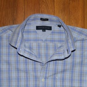 Tommy Hilfiger Dress Shirt Mens 15 1/2 32-33
